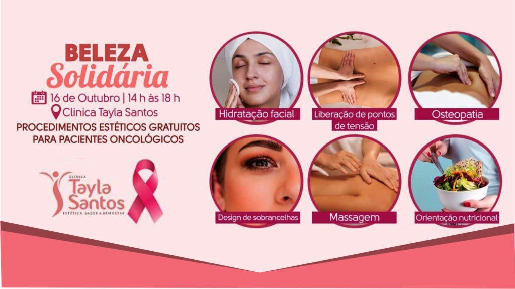 Outubro Rosa: Dia de Beleza Solidária beneficiará pacientes com câncer da UNACON
